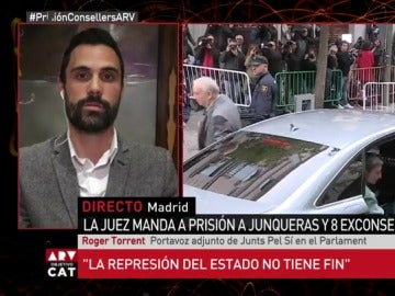Roger Torrent, en Al Rojo Vivo
