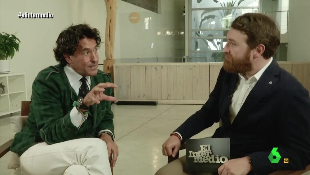 Manuel Burque entrevista a Álvaro de Marichalar