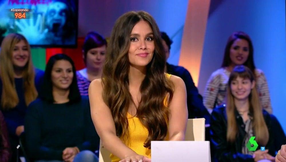 "Cristina Pedroche planea un susto pero se convierte en ""la asustadora asustada"""