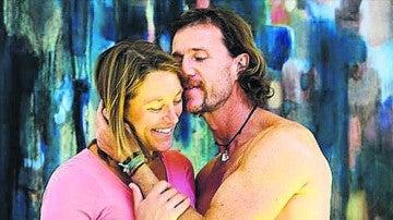 Mario Cesar Deus Yela junto a su ex esposa