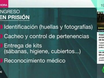 Identificación, cacheos... así serán los primeros momentos de Junqueras y los exconsellers cuando entre en prisión