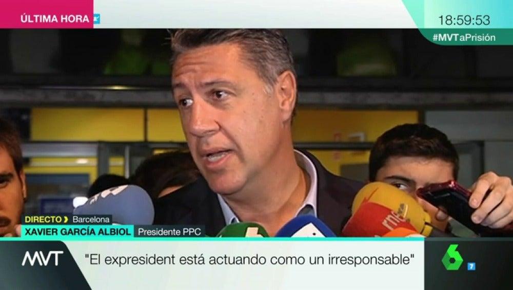 La Sexta Tv Xavier Garcia Albiol La Historia Esta Poniendo Ya En