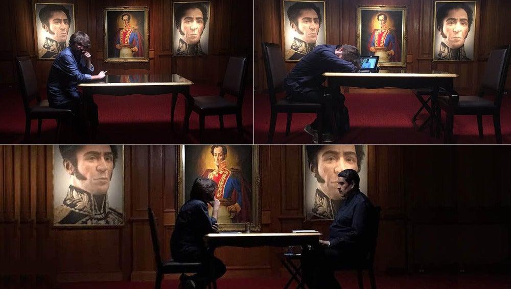 La espera de Jordi Évole para entrevistar a Maduro