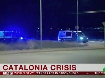 Cataluña copa los medios internacionales: en la BBC se preguntaron si España se comporta como un Estado fascista