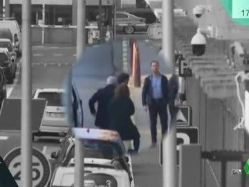 Carles Puigdemont en las calles de Bruselas