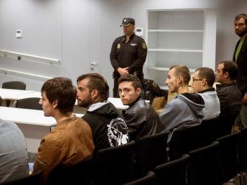 """La Audiencia Nacional juzga a doce miembros del colectivo musical """"La Insurgencia"""""""