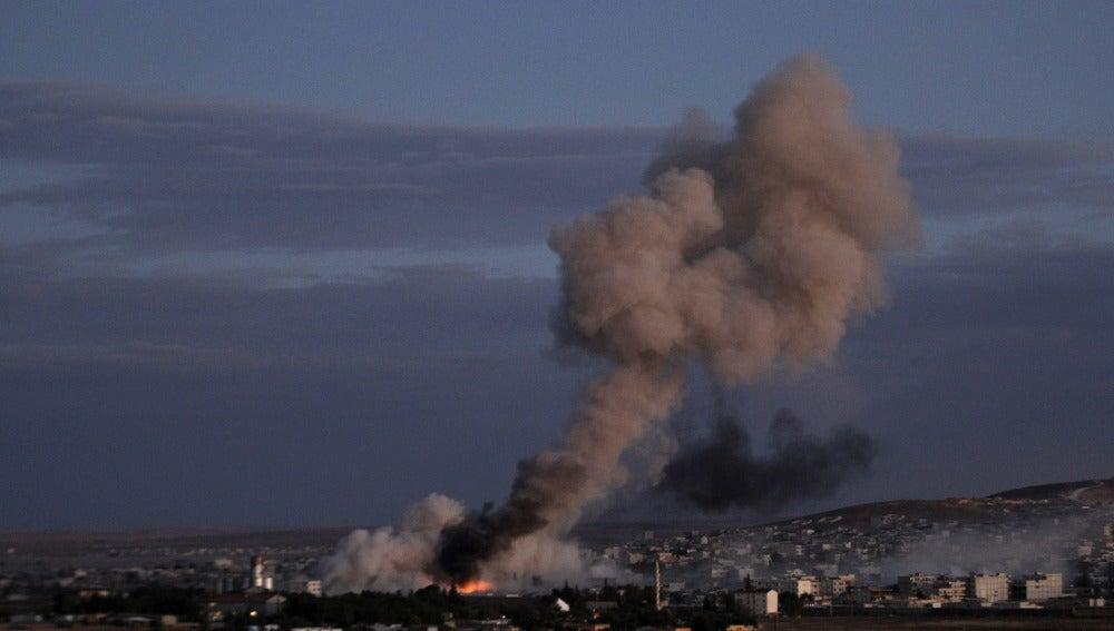 Ataque aéreo en Somalia