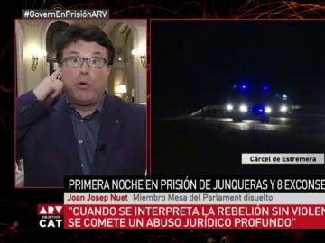 Joan Josep Nuet, en Al Rojo Vivo