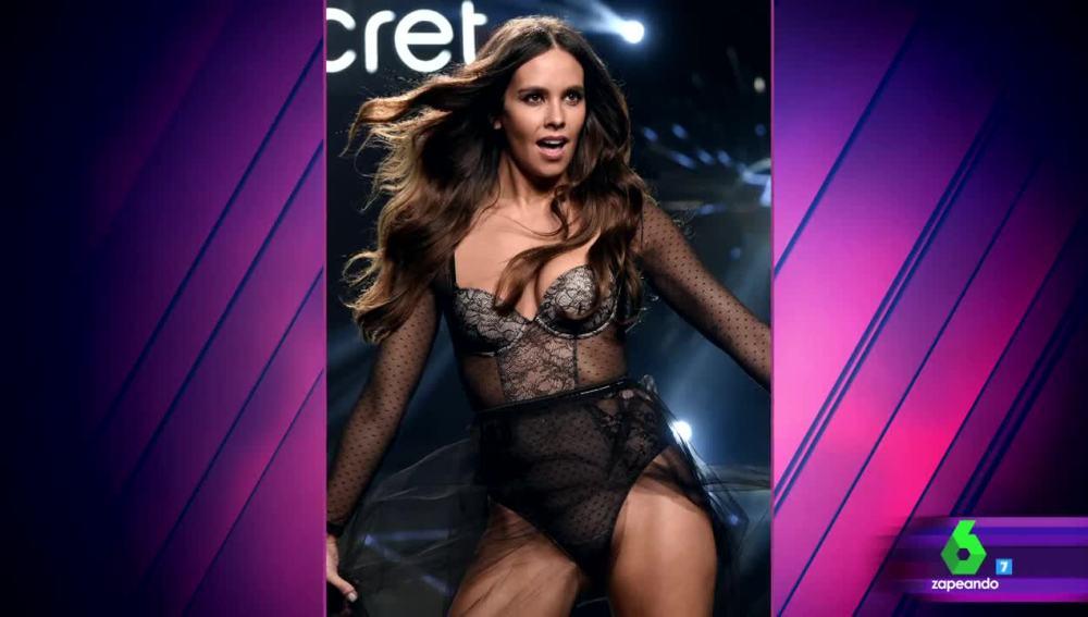 Cristina Pedroche, orgullosa de su desfile en ropa interior para Women'secret