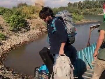 Jordi Évole pisa territorio sirio