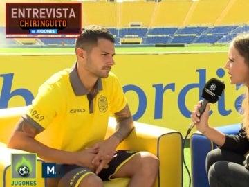 Vitolo, en su entrevista con El Chiringuito de Jugones