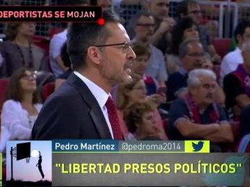 Pedro Martínez, técnico del Baskonia
