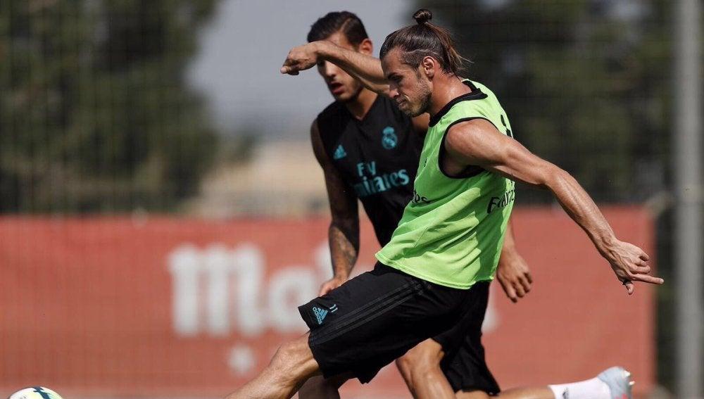 Bale, en un entrenamiento