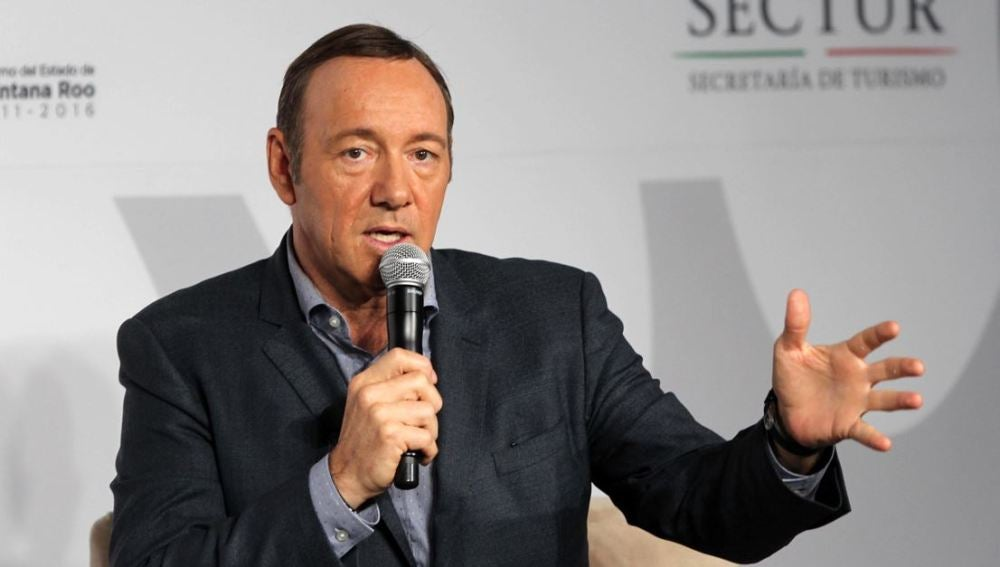 El popular actor estadounidense, Kevin Spacey