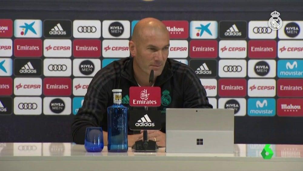 """Zinedine Zidane: """"Ahora mismo tampoco soy el peor entrenador del mundo"""""""