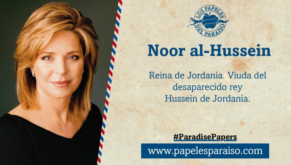 Noor al-Hussein, reina de Jordania