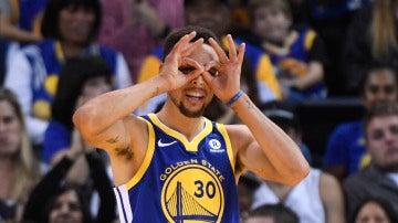 Stephen Curry, de Golden State Warriors