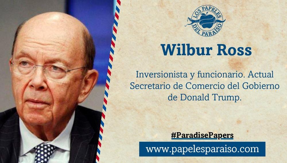 Wilbur Ross, Secretario de Comercio de Trump