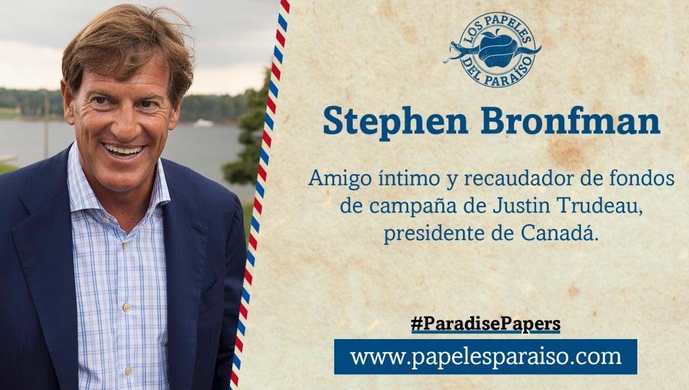 Stephen Bronfman, amigo íntimo de Justin Trudeau