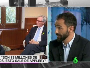 Joaquin Castellón en el plató de laSexta Noticias