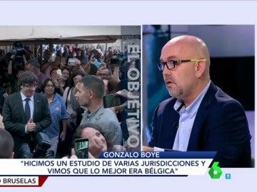 Gonzalo Boye en El Objetivo