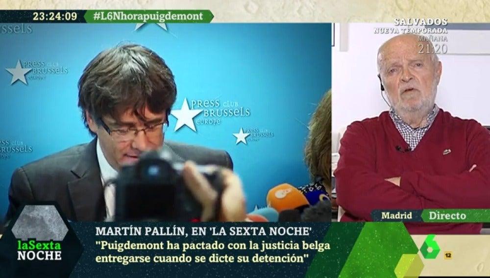 Martín Pallín, en laSexta Noche