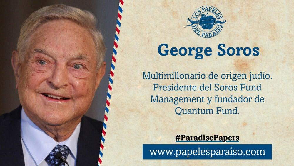 George Soros, presidente del Soros Fund Management