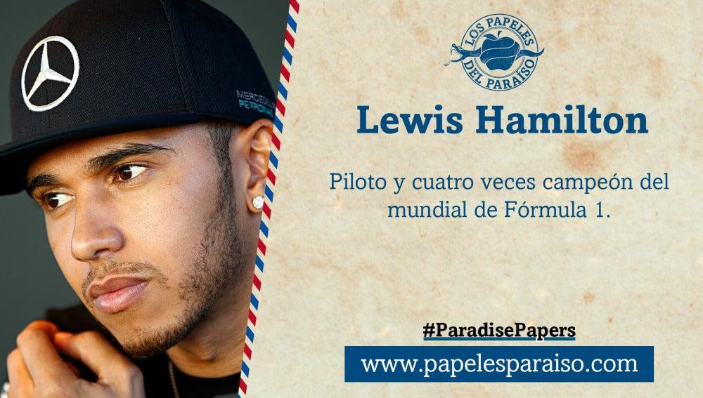 Lewis Hamilton, piloto de Fórmula 1