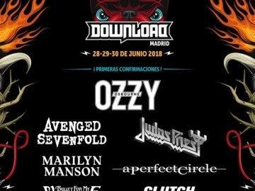 Cartel de Download Festival 2018
