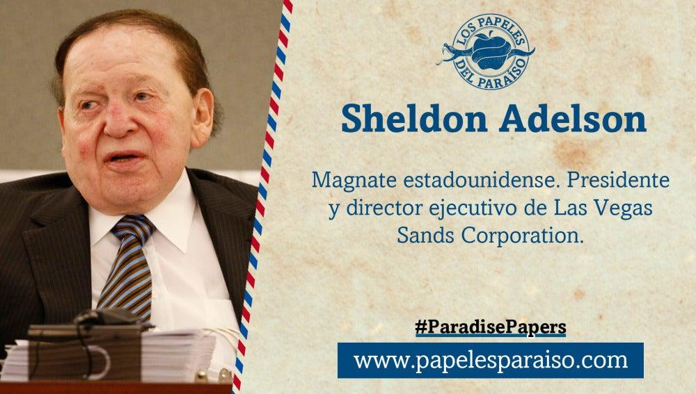 Sheldon Adelson, presidente de Las Vegas Sands Corporation