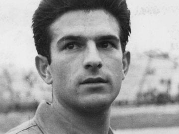Feliciano Rivilla, en su etapa como jugador del Atlético de Madrid