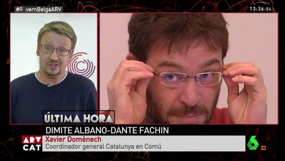 Xavier Domènech en Al Rojo Vivo