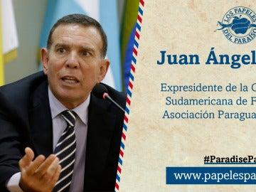 Juan Ángel Napout, expresidente de la Confederación Sudeamericana de Fútbol