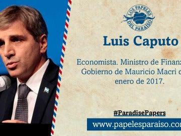 Luis Caputo, ministro de Finanzas de Argentina