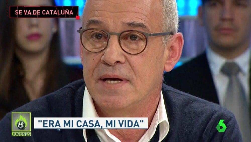 """Julio Alberto anuncia emocionado que deja Cataluña: """"Me vuelvo a Asturias"""""""