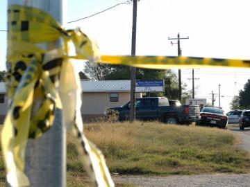 Imagen de archivo de las inmediaciones del lugar en el que ha habido un tiroteo en EEUU