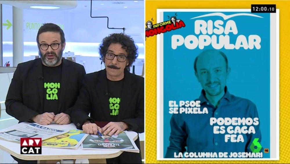 Edu Galán y Darío Adanti en Al Rojo Vivo