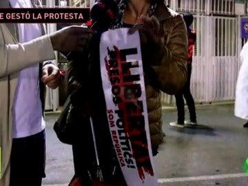 ''¿CÓMO SE ORGANIZÓ LA PROTESTA POLÍTICA EN EL CAMP NOU?''
