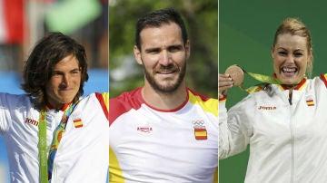 Chourraut, Craviotto y Valentín, en los Juegos de Río