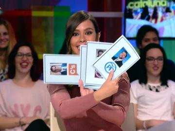 Cristina Pedroche accede en exclusiva al boletín de notas de los líderes de los principales partidos políticos