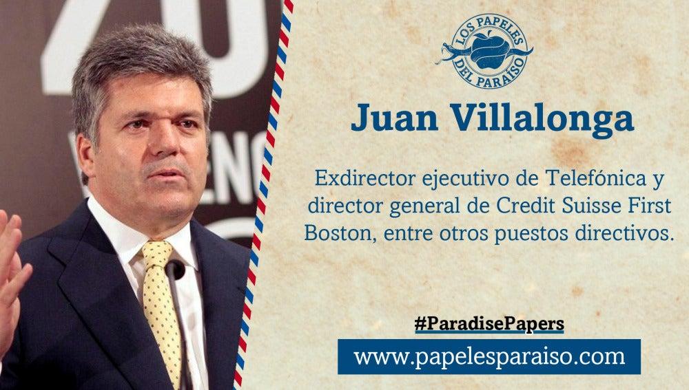 Juan Villalonga, expresidente de Telefónica