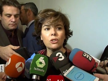 """Soraya Sáenz de Santamaría """"la lía parda"""" tras salirle mal un experimento químico"""