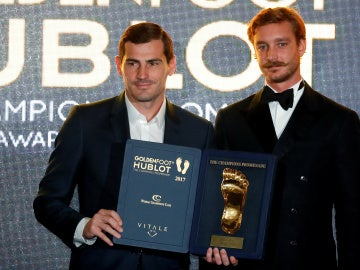 Iker Casillas, premio Golden Foot 2017