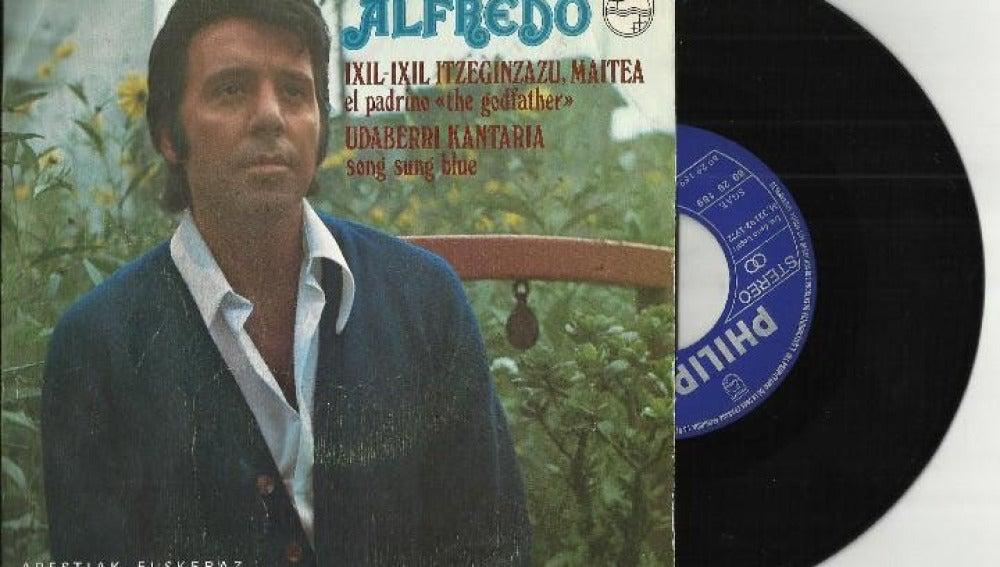 Alfredo Garrido de joven
