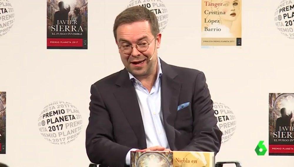 Javier Sierra, ganador del Premio Planeta