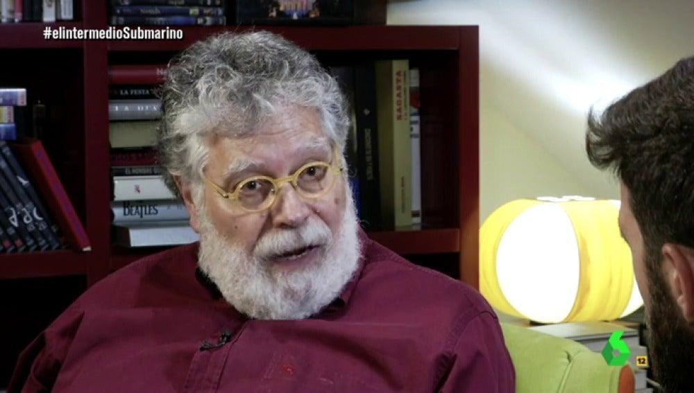 El periodista Joaquín Estefanía
