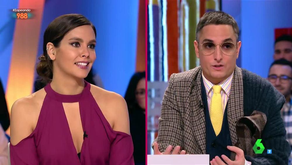 Cristina Pedroche y Josie desvela una nueva pista del vestido de las Campanadas