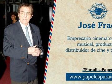 El productor José Frade aparece en los Papeles del Paraíso