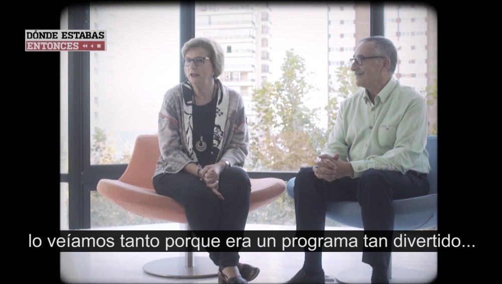 Amparo Marzal y Antonio Puig en Dónde estabas entonces