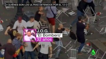 ultras detenidos